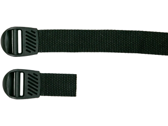 Clamp adjusting buckles with nylon strap 25mm
