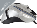 FZ  8 , 2010 - 2016 2015 / 2016 silver, deco sky grey, welting tapes baltic blue for RACE BLU (M)